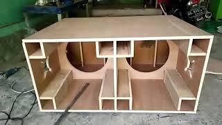 Download Membuat box speaker model planar 18″ part 1 horeg mantab Video