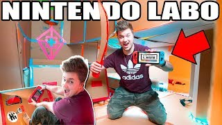 Download NINTENDO LABO BOX FORT!! 📦👾 Mario Kart, Table Tennis, Swords & More! Video