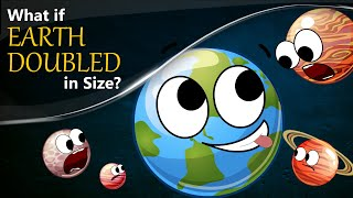 Download What if Earth Doubled in Size? | #aumsum Video