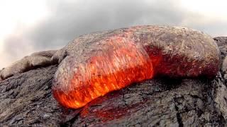 Download 7 15 13 Lava Flow Hawaii Kilauea Volcano Lava Flow GoPro Hero 2 Video