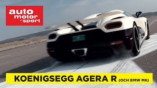 Download Provkörd: Koenigsegg Agera R och BMW M6 Video
