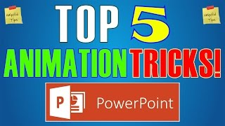 Download Top 5 Animation Effects & Tricks in Powerpoint 2016 - Best Slideshow Hacks Video