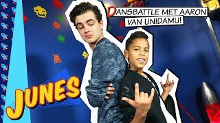 Download Gamen met Junes | Dansbattle met Aaron van Unidamu! (Just Dance) Video