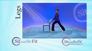 Download Sit and Be Fit - Leg Strengthening and Stretching - Mary Ann Wilson, RN - Focusing on Hips Video