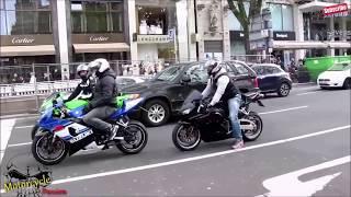 Download Best Bikers Compilation 2016 - Accelerations, Burnouts, Wheelies + Motorbike Sounds Video