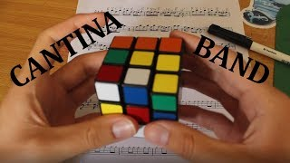 Download ″Cantina Theme″ Played By Rubik's Cube Whilst Being Solved Video