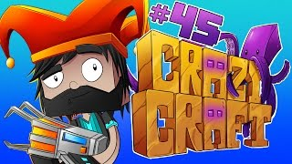 Download DAN DISINTEGRATED ME!!!! [#45] | Minecraft Crazy Craft 3.0 Video