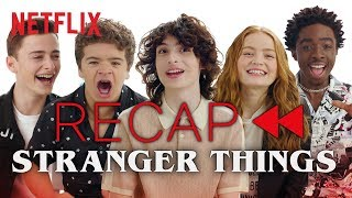 Download Get Ready for Stranger Things 3 - Official Cast Recap of Seasons 1 & 2 | Netflix Video