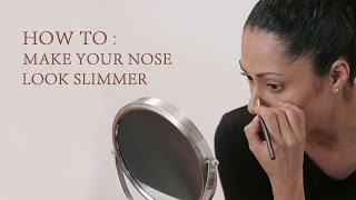 Download How To Make Your Nose Look Slimmer   Nose Contouring Makeup Tricks   Glamrs Video