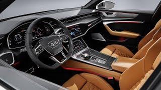 Download 2020 Audi RS 6 Avant - INTERIOR Video