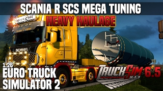 Download ETS2 v1 26 Scania R SCS Mega Tuning + ALL DLC's ready Video