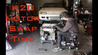 Download Project K20 Civic EG: Motor Swap Time Ep. 3 Video