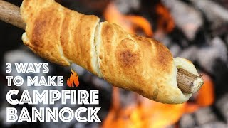 Download Campfire Bannock 3 Different Ways Video