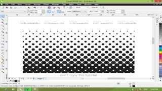 Download Cara Membuat Efek Halftone dengan CorelDraw Video