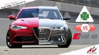 Download Assetto Corsa - RS6 Avant Vs Giulia Quadrifoglio Video