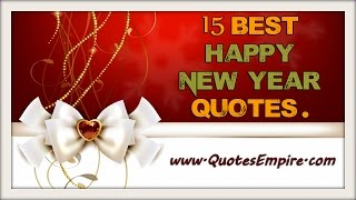 Download 15 Most Beautiful Happy New Year Quotes Video