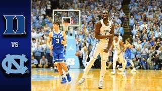 Download Duke vs. North Carolina Men's Basketball Highlights (2016-17) Video