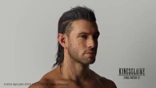 Download The hair of Nyx Ulric from Kingsglaive Final Fantasy XV Video