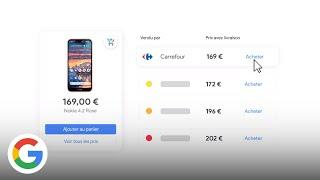Download Comparez les prix de nombreux marchands et achetez directement sur Google - Google France Video