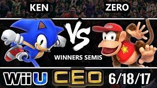 Download CEO 2017 Smash 4 - KEN (Sonic) vs TSM | ZeRo (Diddy Kong) WiiU Winner's Semis Video