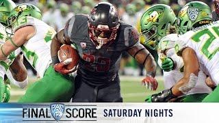 Download Recap: Washington State football's ground attack stuns Oregon Video