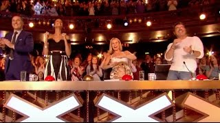 Download Simon Pushes Golden Buzzer For The Most Difficult Song In The World! Video