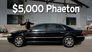 Download Bought a Cheap VW Phaeton - Big Sedan Challenge | Everyday Driver Video