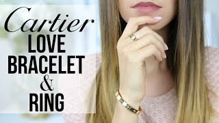 Download CARTIER LOVE BRACELET AND RING | Story, Review, Wear & Tear | Shea Whitney Video