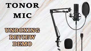 Download Tonor Q9 Microphone Review [with Unboxing and Demo] Video