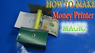 Download How to make Money Printer Machine Magic Trick simple Video
