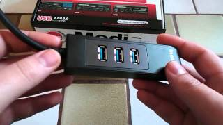 Download HUB USB 3.0 Adaptateur Gigabit Ethernet - Inateck Video