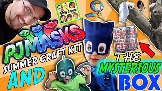 Download Disney's PJ MASKS Craft Kit & FGTEEV (FUNnel Vision) MYSTERY BOX 🎁 unboxing Gekko Cat boy Skit 🙀 Video