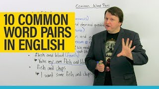 Download Improve your Vocabulary: 10 common word combinations in English Video