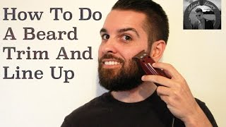 Download DIY - Beard Line Up And Trim Video