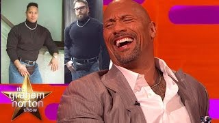 Download Dwayne 'The Rock' Johnson Reacts To Seth Rogen's Fancy Dress Outfit - The Graham Norton Show Video
