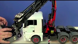 Download RC TRUCK ACTION REVIEW - MAN 6x6 WITH PALFINGER CRANE - ScaleART Video