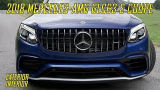 Download 2018 Mercedes-AMG GLC63 S Coupe - Exterior & Interior | Brilliant Blue Metallic Video
