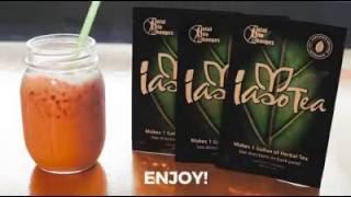 Download Strawberry Banana IASO Detox Tea Smoothie Recipe Video
