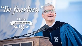 Download Tim Cook: ″Be Fearless″ | Duke University Commencement 2018 Speech Video