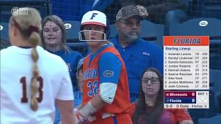 Download NCAA Softball 2019 : #19 Minnesota vs #7 Florida Mar 20 Video
