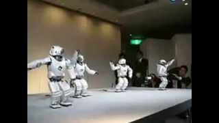 Download Funny Dancing Humanoid Robots by Sony Video