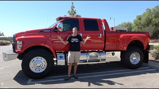 Download The Ford F-650 Is a $150,000 Super Truck Video