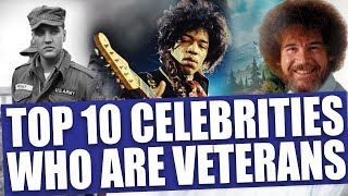 Download 10 awesome celebrities who served in the military Video