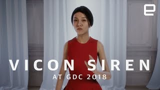 Download Vicon Siren first look at GDC 2018 Video