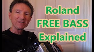 Download Roland Accordion, FREE BASS function, Dale Mathis Video