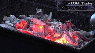 Download How to get amazing red hot lump charcoal for any barbecue BBQ Dragon Review Video