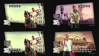 Download GTA5 loading time HDD vs SSD (PS3, BD) Video