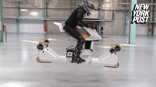 Download This hoverbike is almost as cool as a jetpack Video