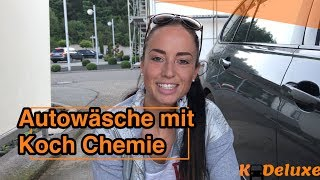 Download Autowäsche mit Koch Chemie Nano Magic Shampoo, Insect&Dirt Remover, Reactive Wheel Cleaner Video