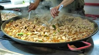Download Preparing Malaysian Curry Chicken. London Street Food Video
